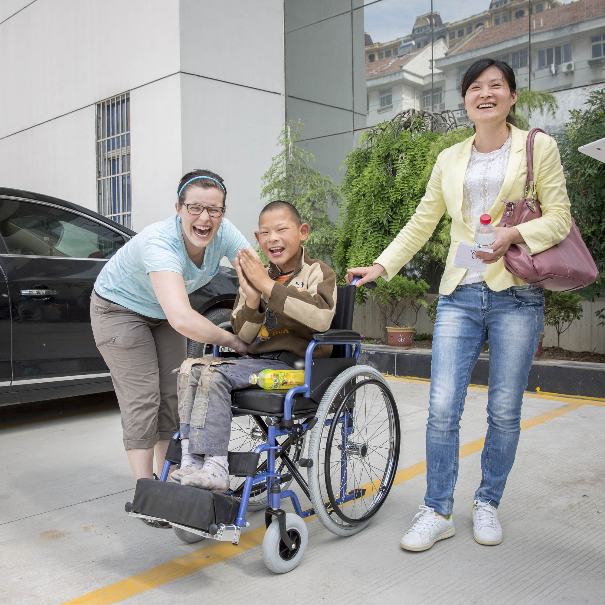 Wheels for the World in China