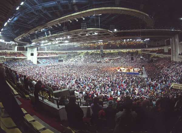 Billy Graham Crusade in Moscow, Russia