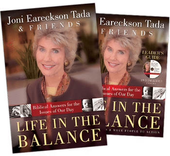 life in the balance book cover and leaders guide cover