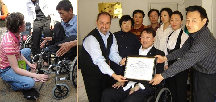wheels outreach in china