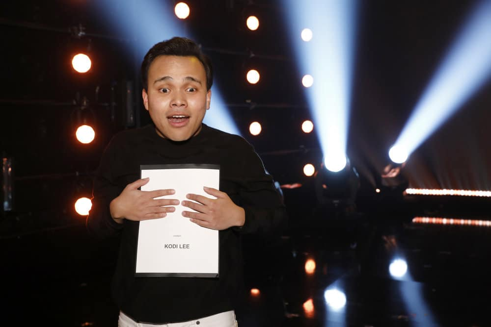 "AMERICA'S GOT TALENT -- ""Live Results Finale"" Episode 1423 -- Pictured: Kodi Lee -- (Photo by: Trae Patton/NBC)"