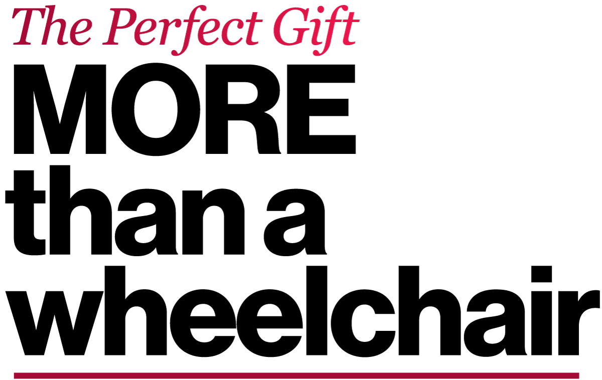 The Perfect Gift More Than a Wheelchair